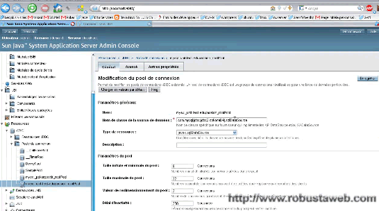 Video Robusta Web Glassfish et Mysql